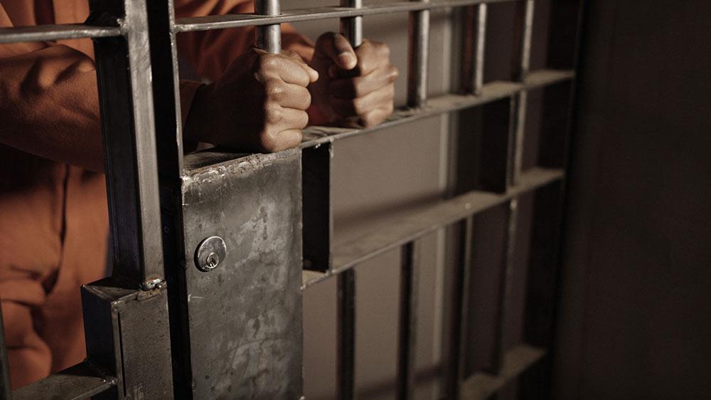 black man in jail, false imprisonment